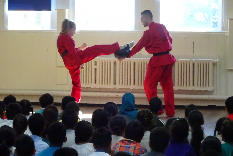 TaeKwon-Do demonstration