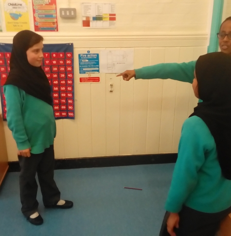 Picture of pupils role playing