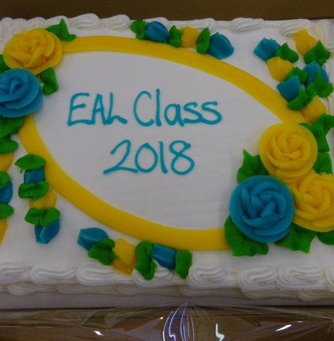 Picture of EAL Class graduation cake