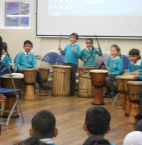 African drumming by Year 2