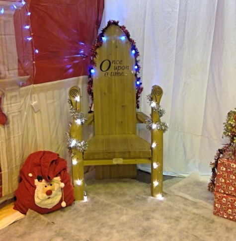 Picture of Santa's grotto