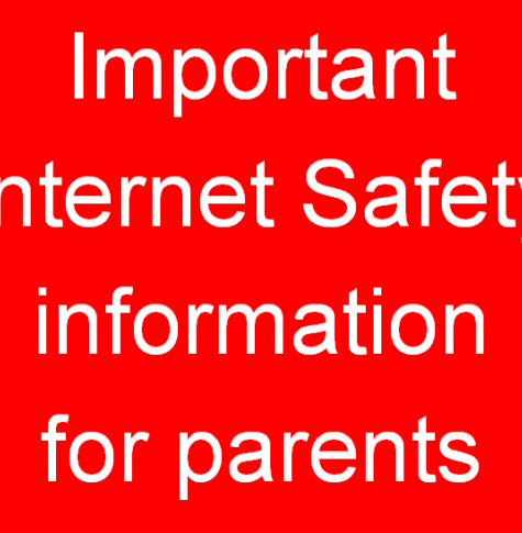 Internet safety graphic
